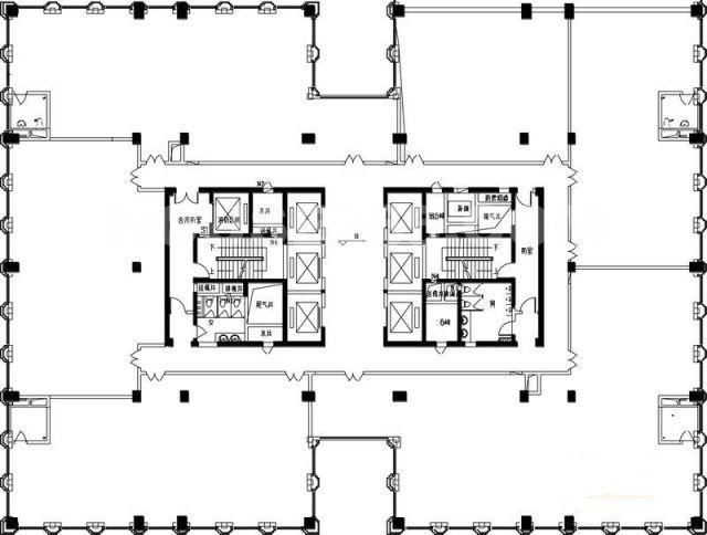 富盛大厦(富盛广场)平面图