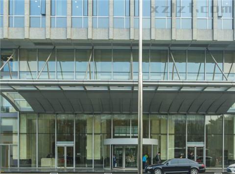 英蓝国际金融中心大门