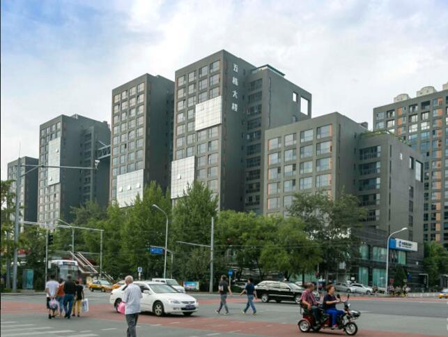 北京五栋大楼大厦外立面