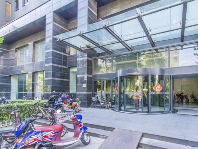 北京五栋大楼大厦入口