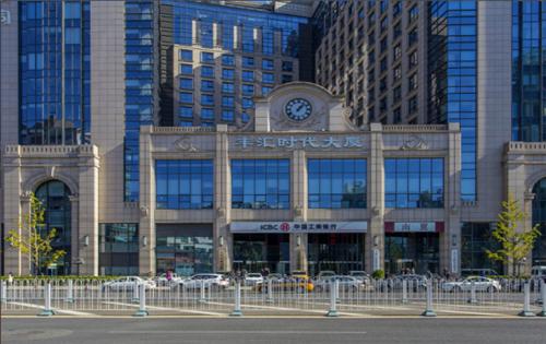 丰汇时代大厦入口