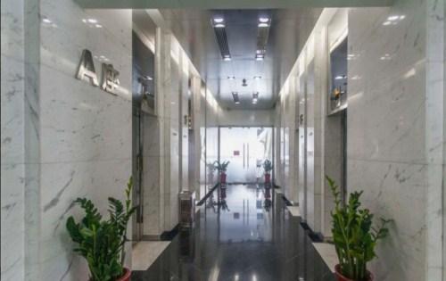 环球财讯中心走廊