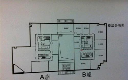 富凯大厦平面图