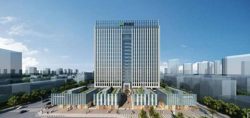 绿地金融中心立面